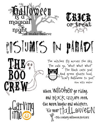 quotes on memory. Halloween Quotes - Freebie