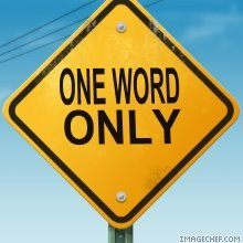 One_word_only