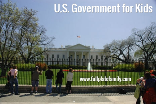 U.S. Government for Kids - Full Plate Family
