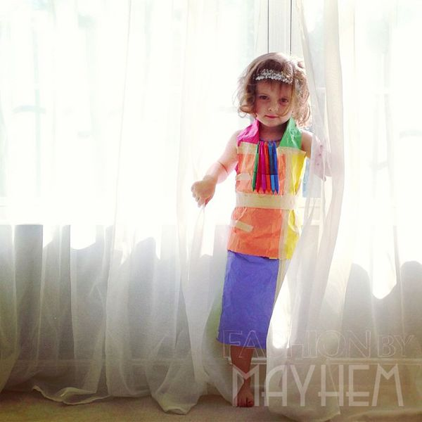 Fashion by Mayhem - First Paper Dress - Memory Cooker