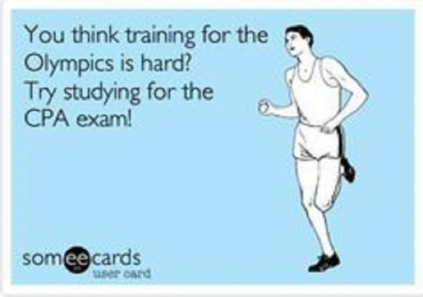 You Think the Olympics is Hard - Try the CPA Exam - CPA Journey - CPA Zone