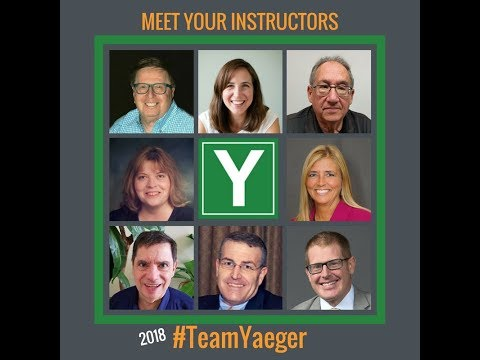 New Instructor Lineup for 2018 at Yaeger CPA Review