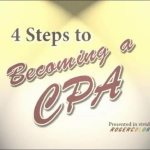 4 Steps to Becoming a CPA (5:32)