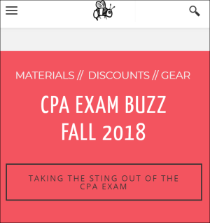 CPA Exam Buzz - Fall 2018 02