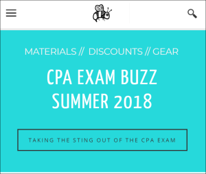 CPA Exam Buzz - Summer 2018