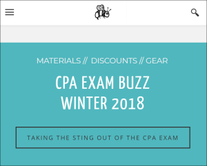 CPA Exam Buzz - Winter 2019