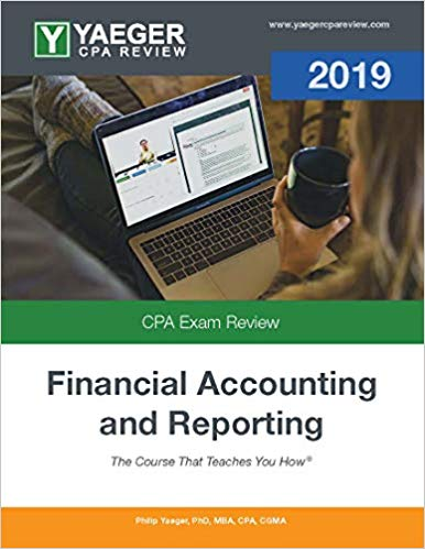 2019 Yaeger CPA FAR Textbook - CPA Exam Buzz