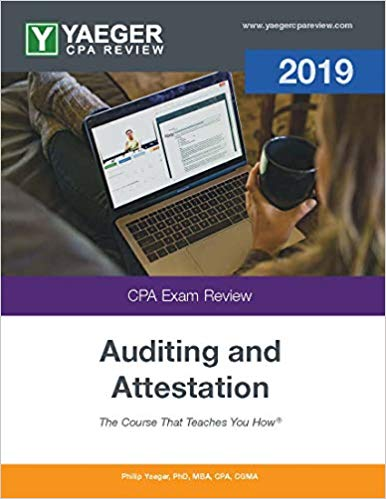 2019 Yaeger CPA AUD Textbook - CPA Exam Buzz
