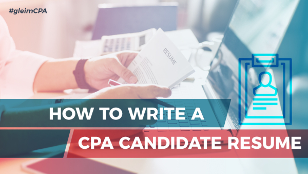 How to Write a CPA Candidate Resume - Accounting Zone