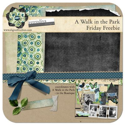 Friday Freebie - A Walk in the Park